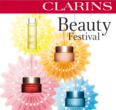 clarins beauty festival web